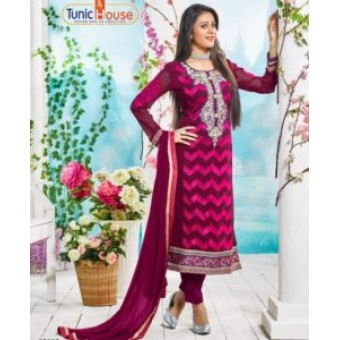 Pure Georgette with Embroidery SKBK001